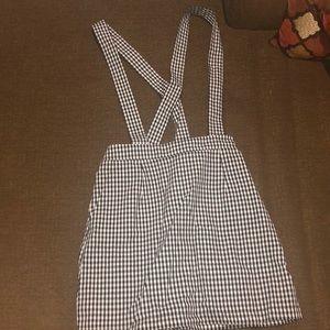 Forever 21 Suspender Skirt